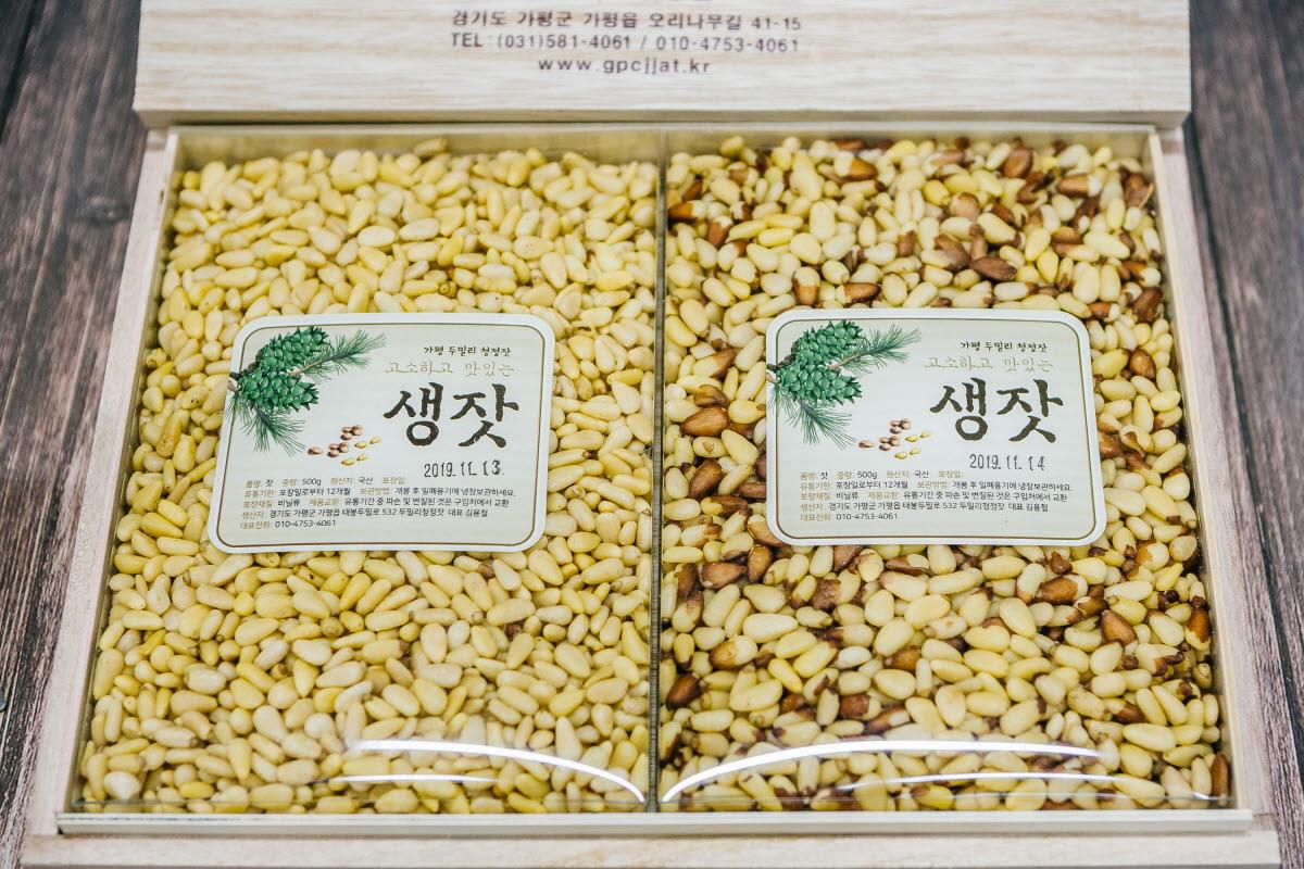 오동나무 생잣+황잣 1kg