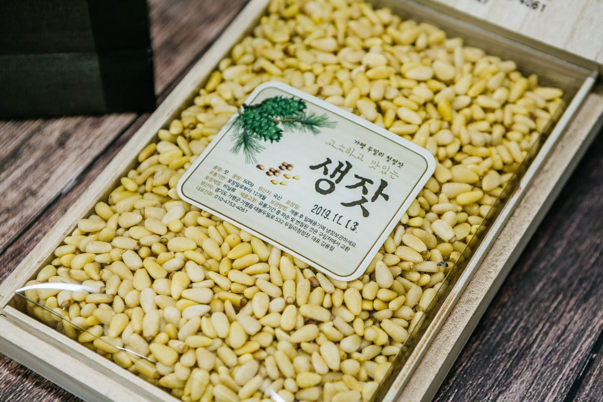 오동나무 생잣 500g